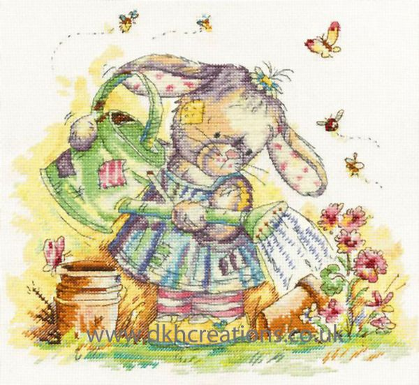 Somebunny To Love Sweet Little Garden Cross Stitch Kit